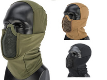 Load image into Gallery viewer, Balaclava Headgear w/ Mesh Mouth Protector