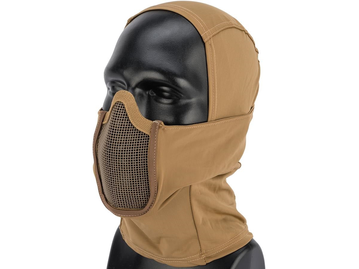 Balaclava Headgear w/ Mesh Mouth Protector