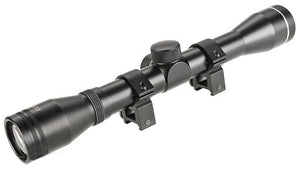 4x32 Fixed Magnification Tactical Rifle Scope w/ Scope Ring