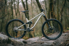 Load image into Gallery viewer, Privateer 141 Bike on the trails, Heritage Green