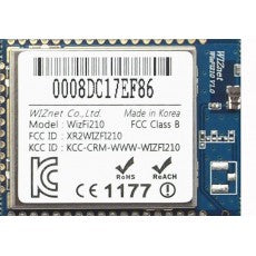 Wiznet WizFi220 serial to WiFi module with Additional Power Amplifier, Chip Antenna