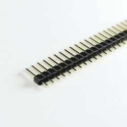 ELE-40W-PCB1 - 40 Ways 2.54mm Single row PCB pin connector Male (10pcs packed)