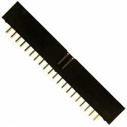 ELE-40W-PCB2 - 40 Ways 2.54mm Single row PCB pin Header Female (10Pcs Packed)