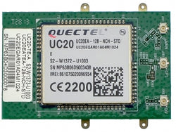 UC20-G-TE-A - Quectel UC20-G Test card for Evalution kit