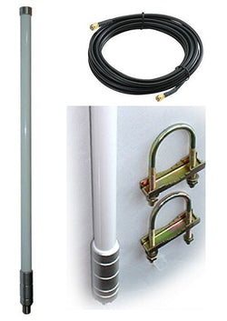 ANT-BL-900-8-LMR400-5M-RPSMA - Fibre Glass antenna 8dBi with 5M LMR400 RPSMA