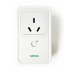 R809A-01-I -Netvox LoRaWan Wireless Power Plug With Power Meter AU version with power outage detection