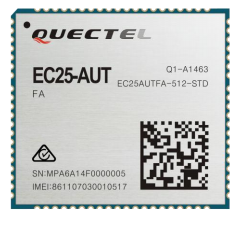 EC25AUT - Quectel LTE 4G Cat 4 module -150Mbps Australia Telstra only LTE band