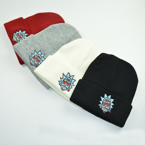 ... Rick And Morty - Stoned Rick Soft Beanies - Fanboy Apparel ... 7a8ec559c0dd