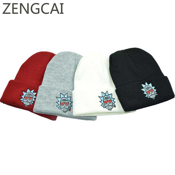 Rick And Morty - Stoned Rick Soft Beanies - Fanboy Apparel ... b4f9791fd8ee