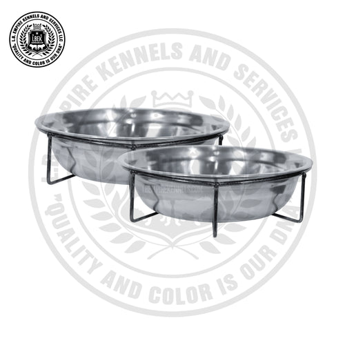stainless steel dog bowls | dog kennel supplier