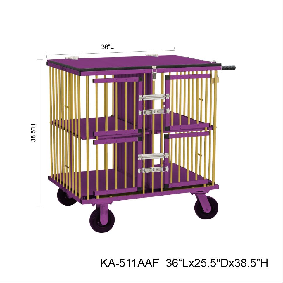 4 BIRTH GROOMING/STACKING TROLLY