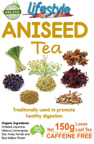 Aniseed Tea 150g - Loose Leaf