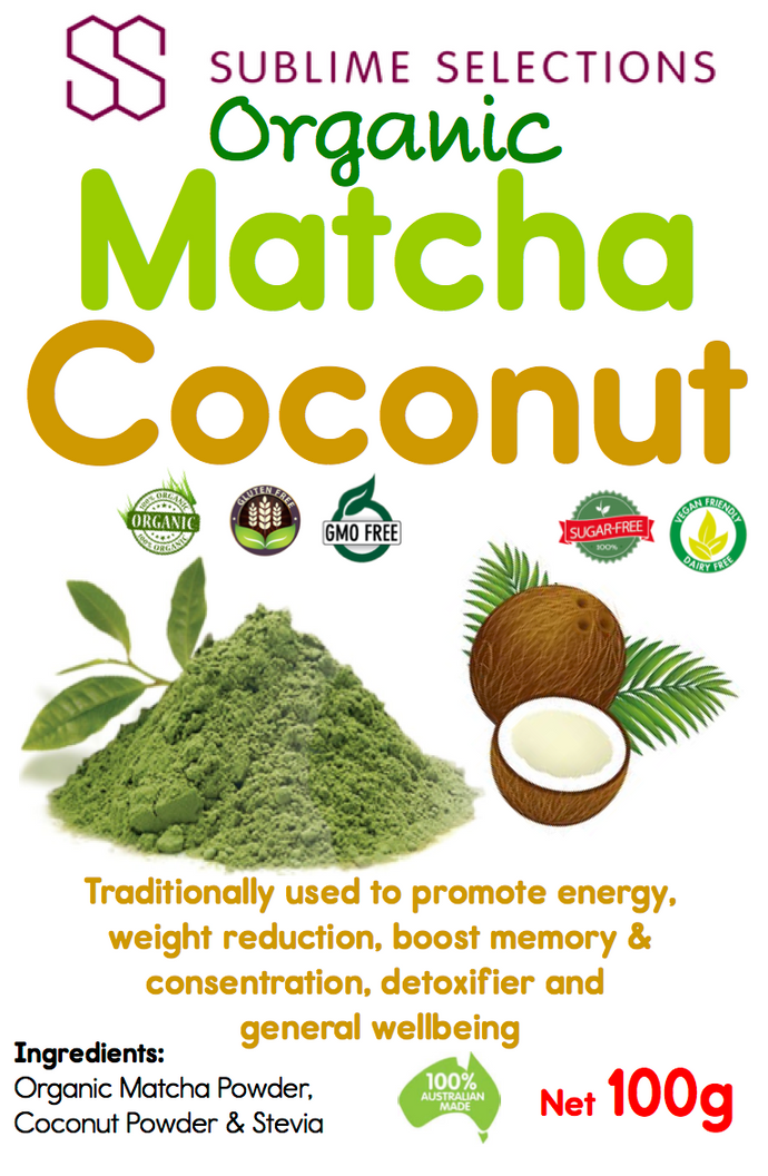 Matcha Coconut - Loose leaf