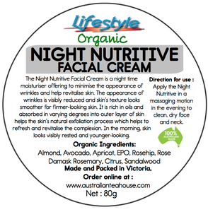 The Night Nutritive (Facial Cream) - 80g