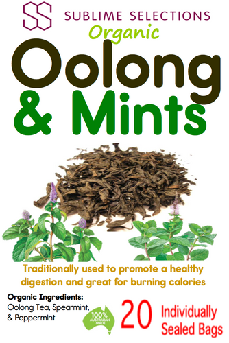 Oolong & Mint - Tea Bag