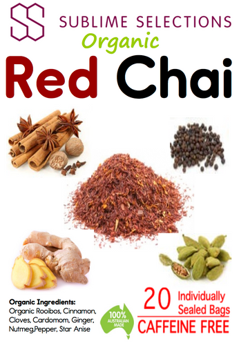 Red Chai - Tea Bag