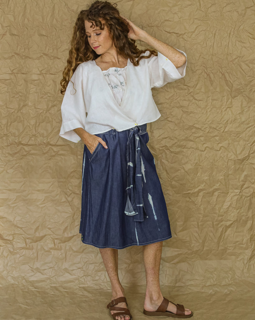 Picnic Skirt in Denim