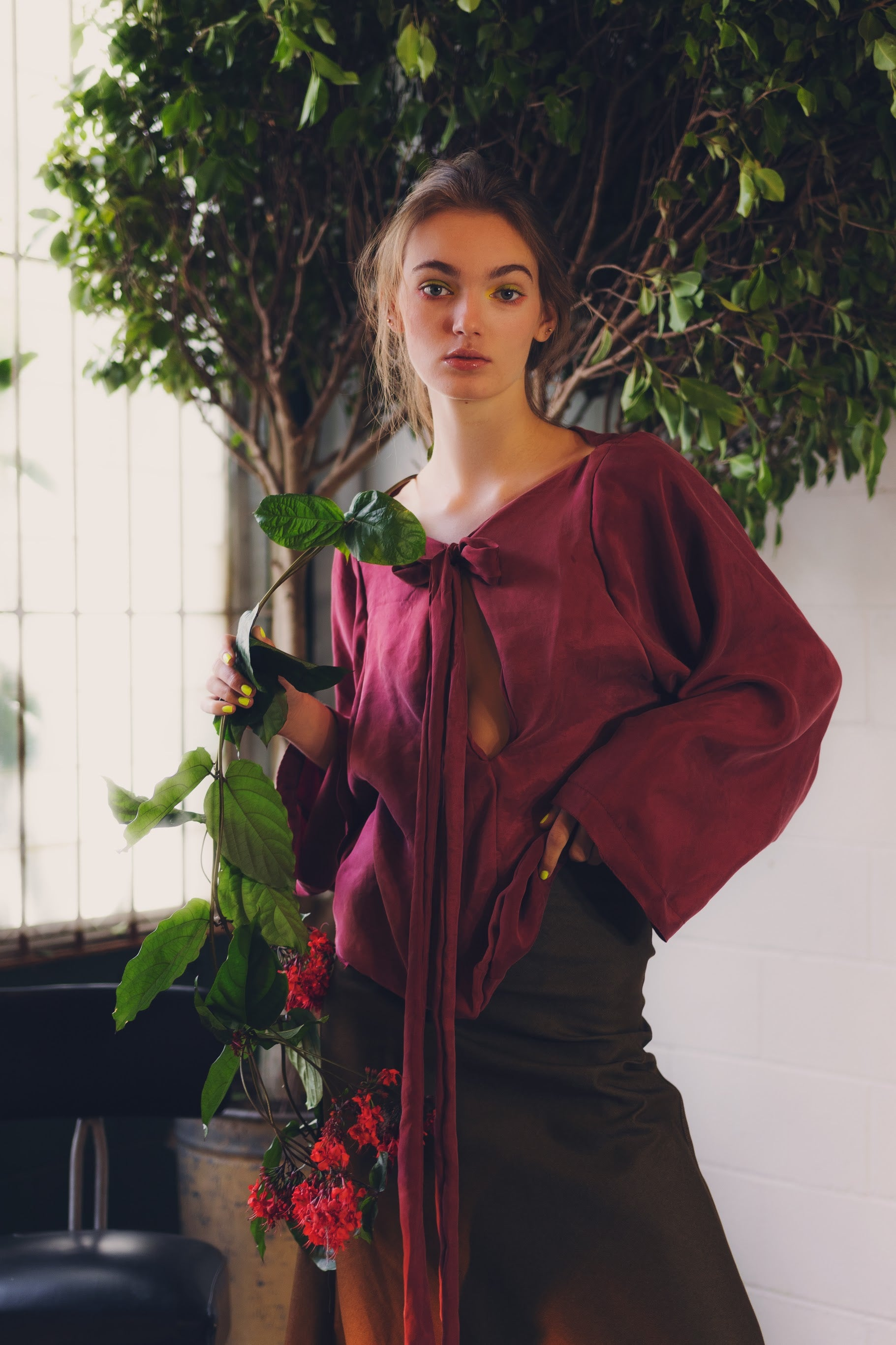 Discovery Top in Wild Plum