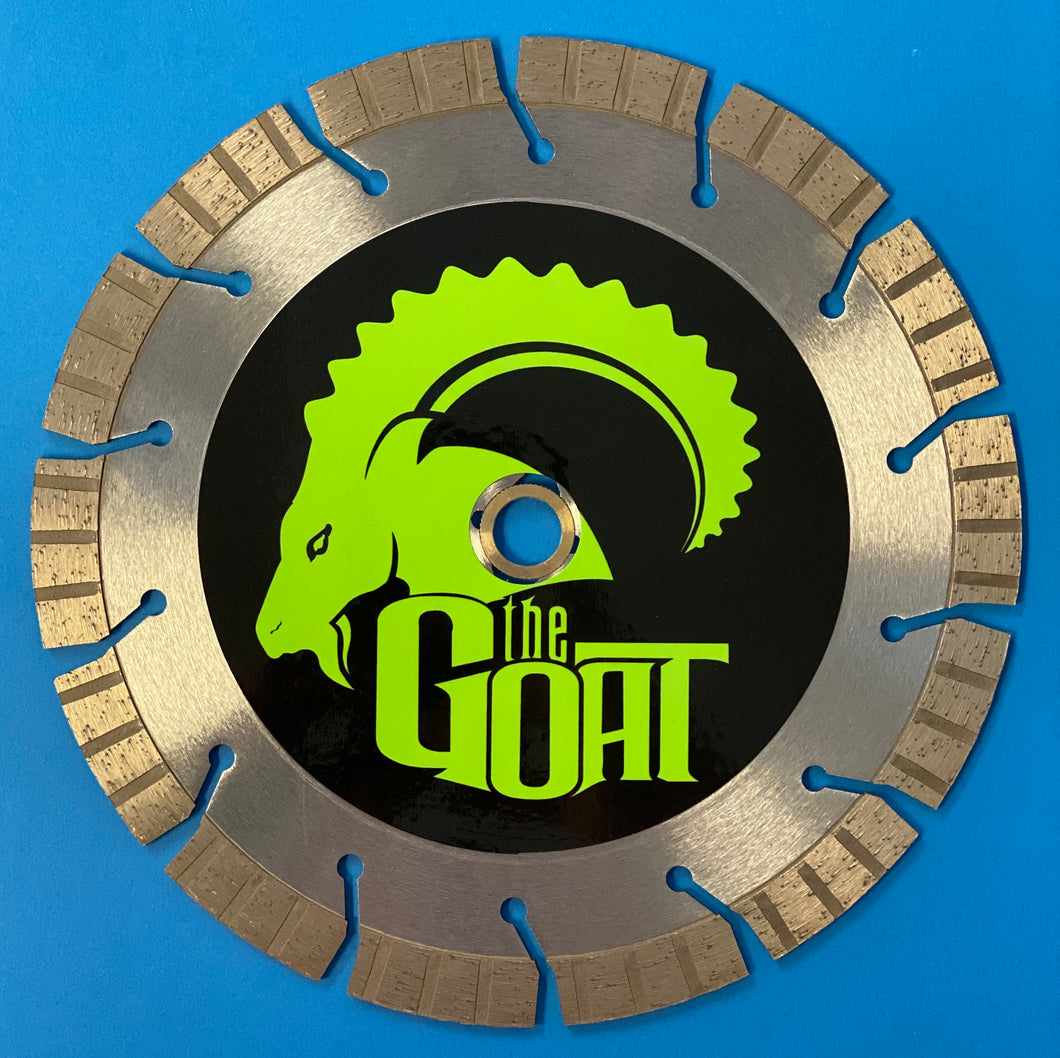 "The G.O.A.T 9"" Turbo Segment Diamond Blade"