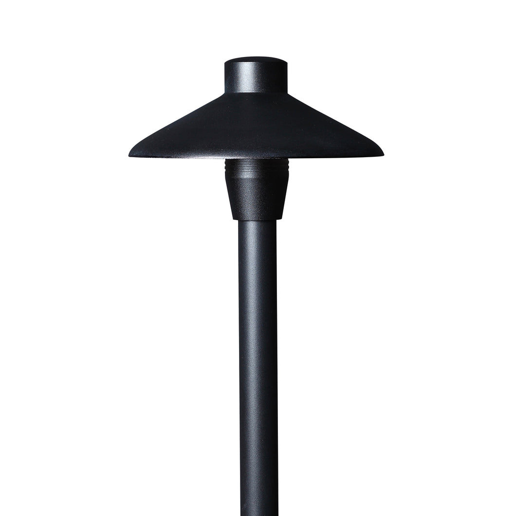 Path Light, Aluminum, BLACK