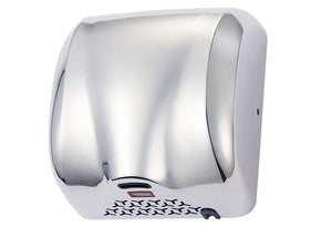 Super Quiet Automatic Electric Hand Dryer Commercial High Speed 90m/s Silver