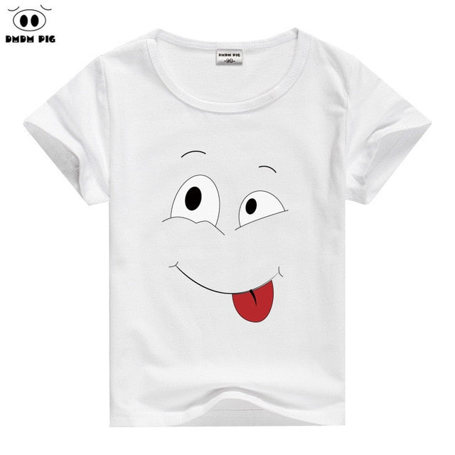 6752f75a DMDM PIG Baby Boy Clothes Toddler Girl Clothing T Shirts Funny Kids Tshirt  Children's T-Shirts For Girls Boys Tops Size 7 8 9 10