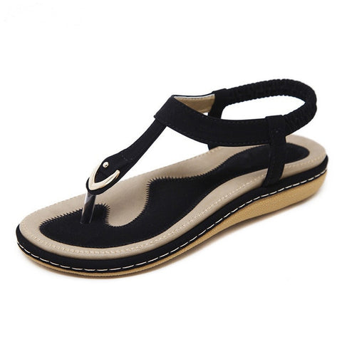 7cee71d650747 TIMETANG summer shoes women bohemia beach flip flops soft flat sandals  woman casual comfortable plus size