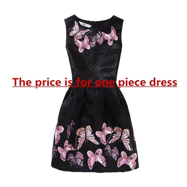 2c19fce8bc New Mom Daughter Clothes Family Look Mother Daughter Dresses Family  Matching Clothing for Summer Sleeveless Printed ...