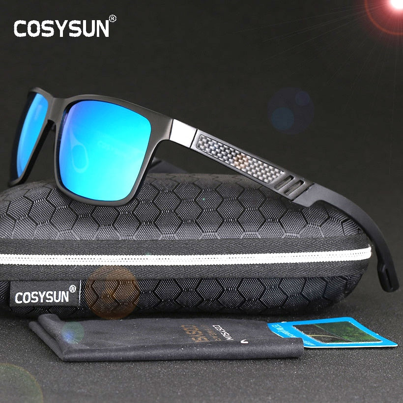 c7fe5c0922 ... 2018 HD Polarized Sunglasses Men Brand Men oculos Aluminum Magnesium Sports  Glasses Sunglasses Mirrored Len Sun