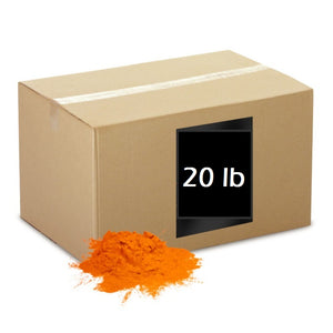 color powder orange 20lb box holi colored chalk cornstarch