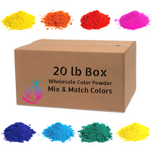 20lb Box Color Powder [5lb of 4 Colors]