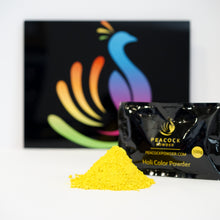 yellow color powder holi color powder festival