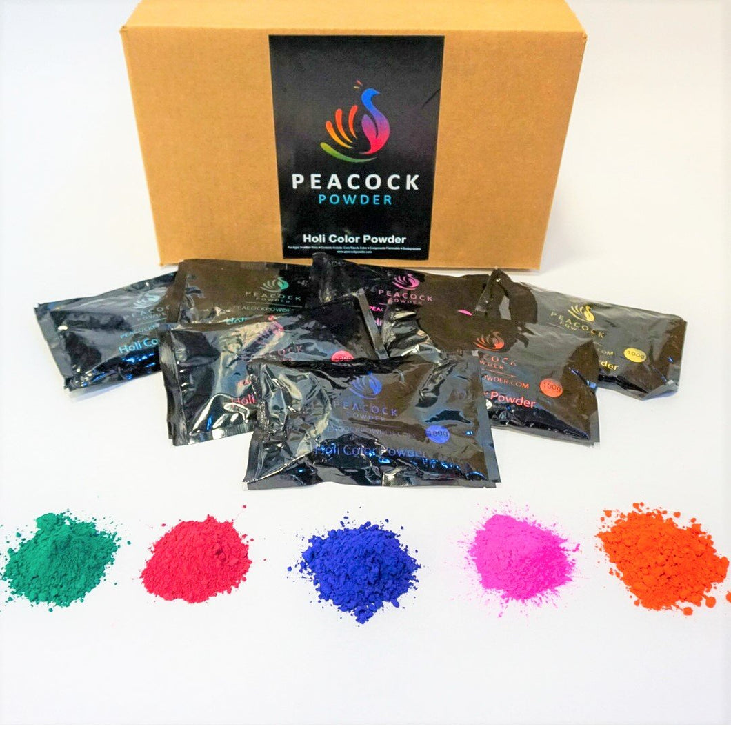 100 GRAM COLOR POWDER WHOLESALE