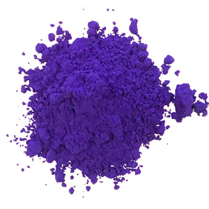 purple peacock powder holi colored cornstarch