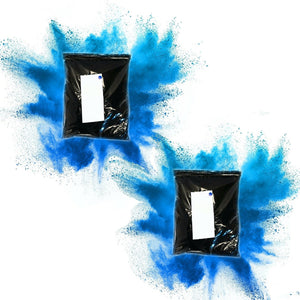 blue gender reveal burnout bags