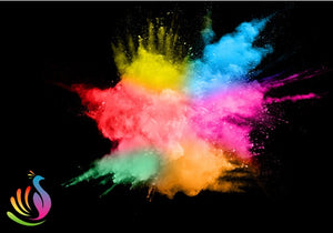 wholesale color powder bulk