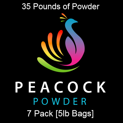 7 Pack [5lb Bags] Holi Color Powder - 35lbs