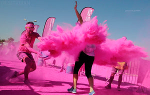 pink bulk wholesale event color festival powder fun run race holi color powder party