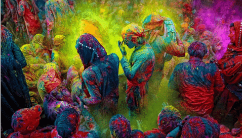 powder color festival powder fun run race holi color powder