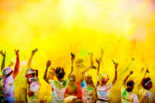 yellow bulk wholesale event color festival powder fun run race holi color powder party