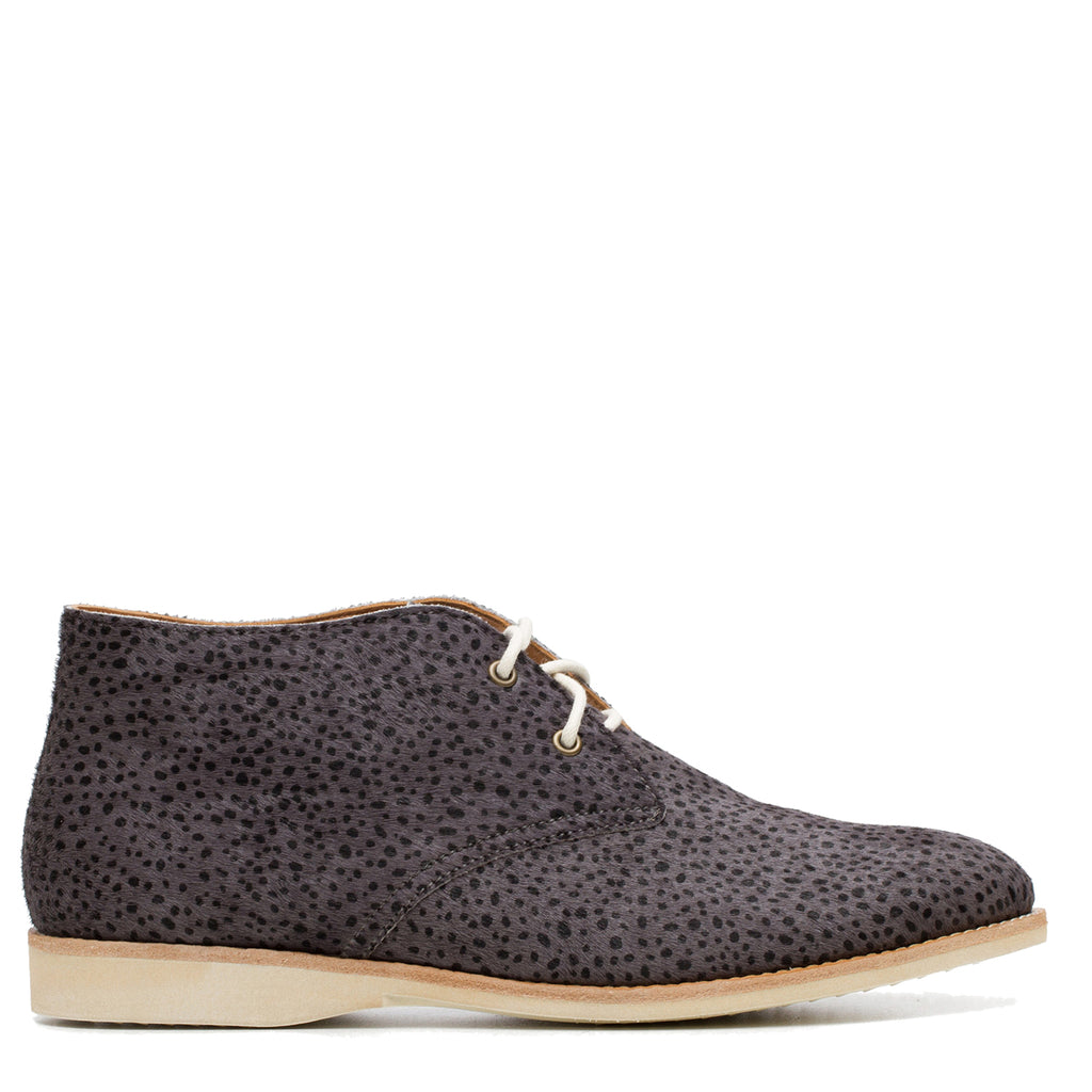 CHUKKA CHARCOAL SNOW LEOPARD - CHARCOAL SNOW LEOPARD