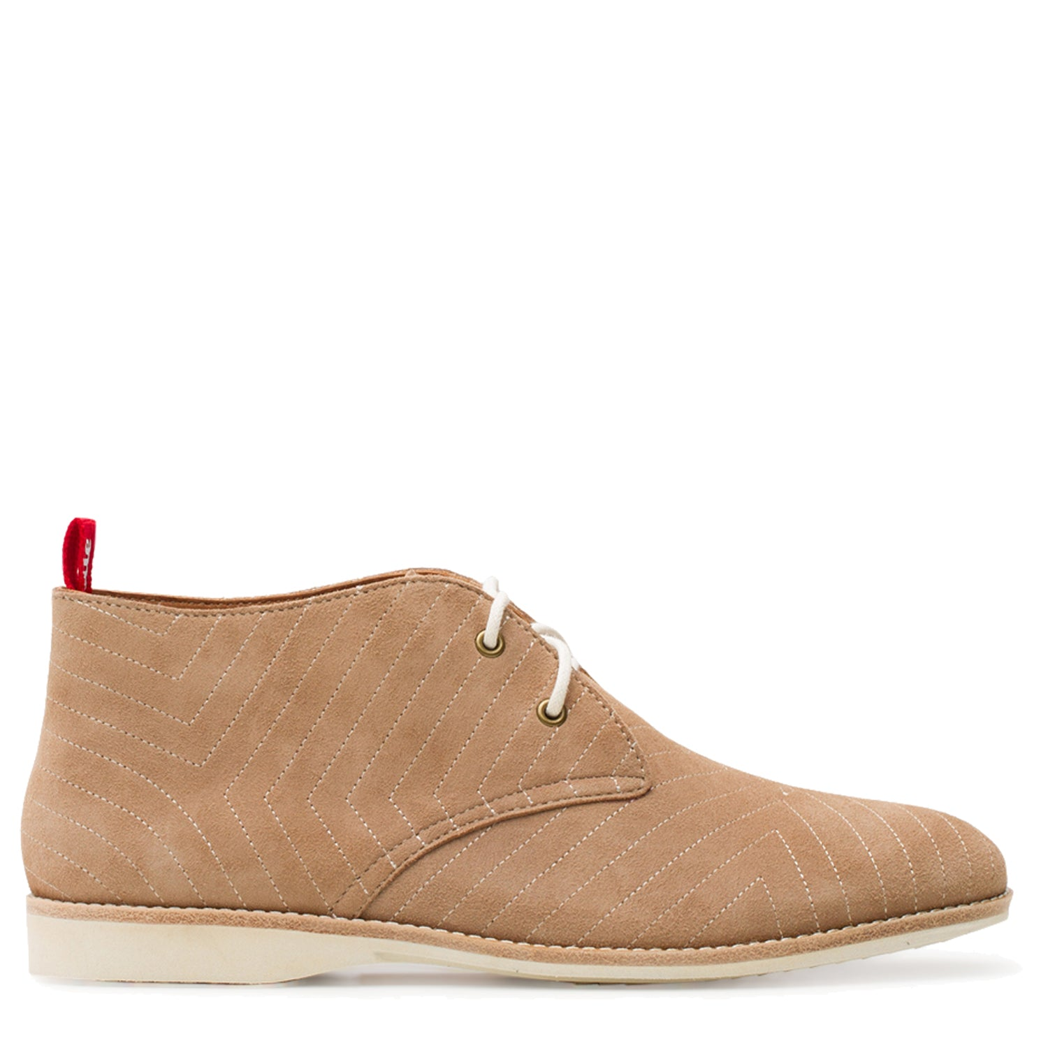 CHUKKA EMBROIDERED TAUPE - EMBROIDERED TAUPE