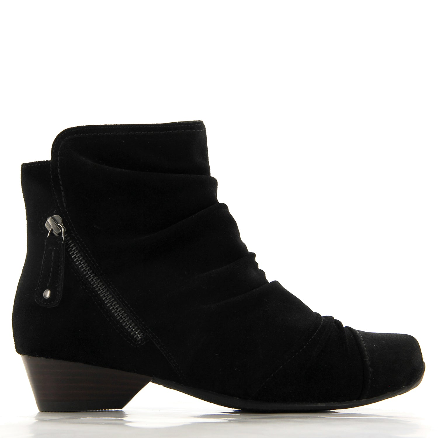 CRYSTAL XW - BLACK SUEDE