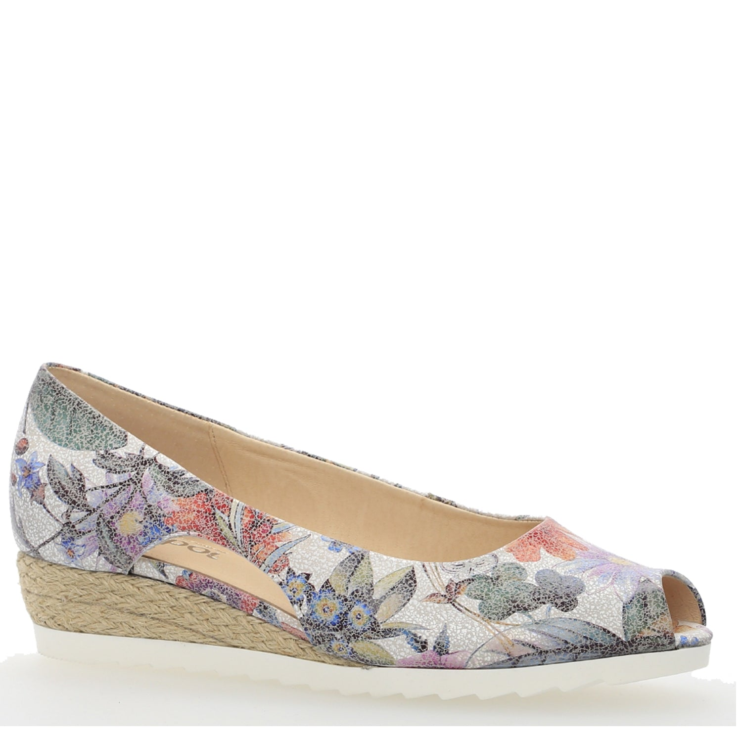 G82.630 - MULTICOLOR  FLOWER PRINT