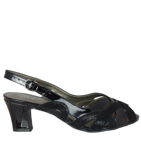 JEWEL - BLACK PATENT