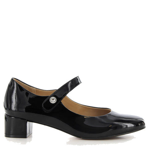 KITTY XXW - BLACK PATENT