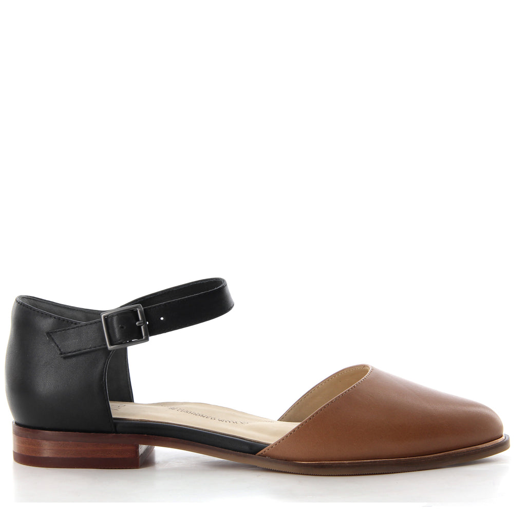 b9a948065a0 Shop LACEY W - BLACK TAN by ZIERA - Ian s Shoes for Women