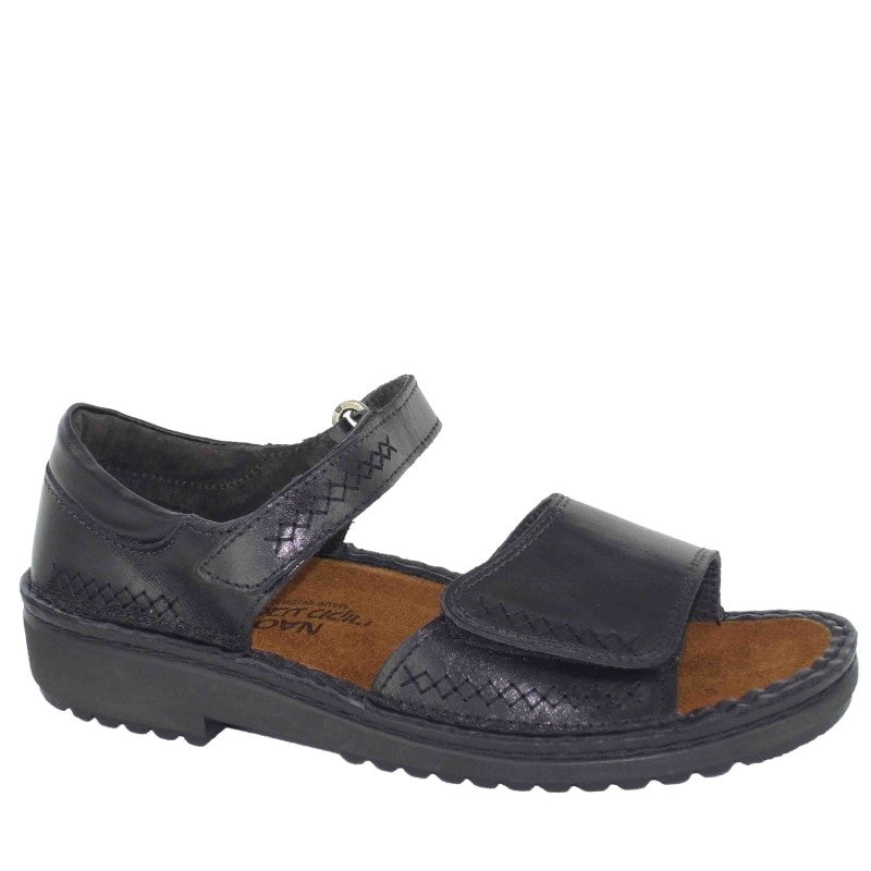 760000730fde Shop NOREL - BLACK MADRAS by NAOT - Ian s Shoes for Women