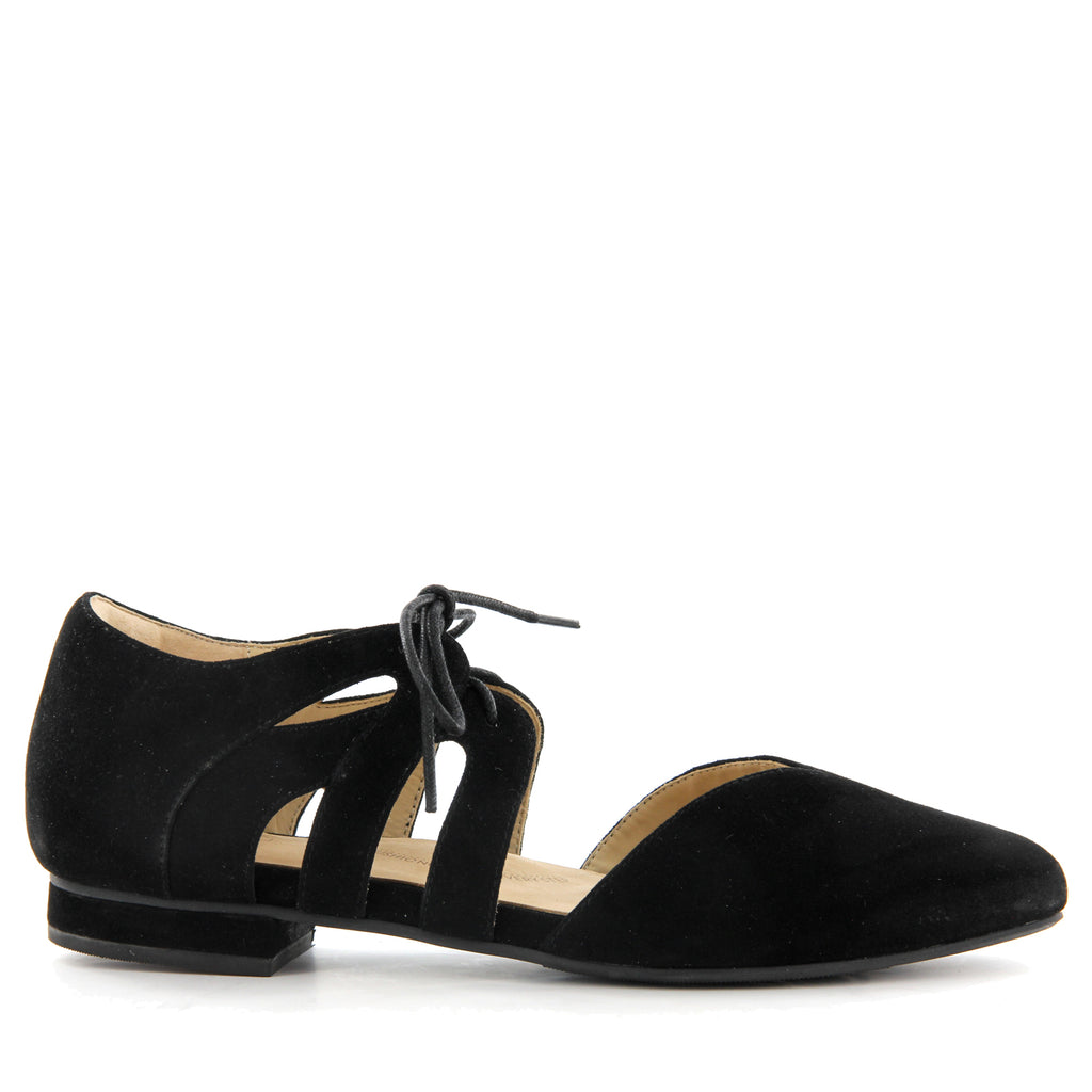 2ae4571cddc8 Shop OAHU W - BLACK SUEDE by ZIERA - Ian s Shoes for Women