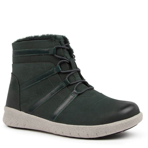 SUSIE XF - FOREST NUBUCK LEATHER